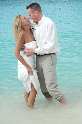 Cayman Islands Beach Wedding for US Marine - image 5
