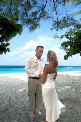 Cayman Islands Beach Wedding for US Marine - image 1