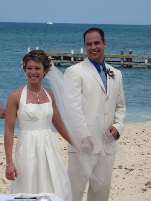 The Story of Joanne's Wedding Garter, and a Cayman Wedding - image 1