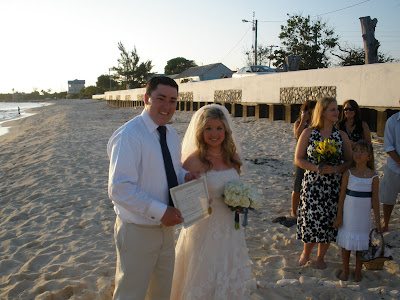 Cayman Easter Wedding at Boggy Sand Road for Connecticut Couple - image 2
