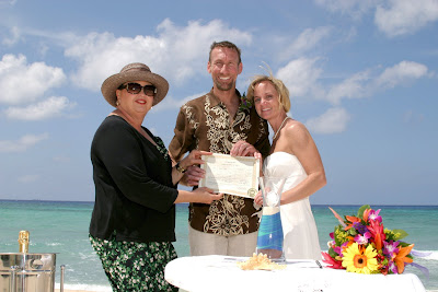 Grand Cayman Beach Wedding for Georgia Law Enforcement Officers - image 5