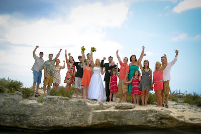 Cruisers enjoy this Smith's Cove, Grand Cayman Beach Wedding - image 6