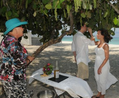 Simply Weddings Bubbly Christened at Grand Cayman Wedding Ceremony - image 2