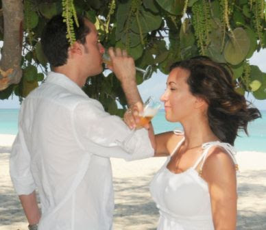 Simply Weddings Bubbly Christened at Grand Cayman Wedding Ceremony - image 1