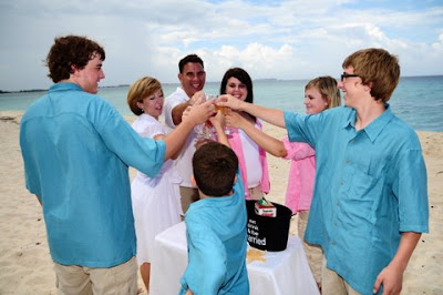 Family Style Wedding in Grand Cayman - image 6