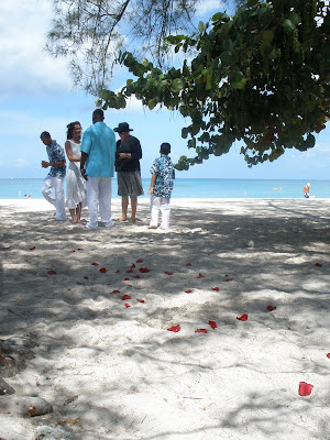 Cayman Wedding-Moon Rocks for Memphis Family - image 5