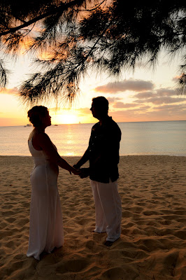 Get married in Grand Cayman, see the Video on You Tube, hear the words of the Cayman Wedding Ceremony