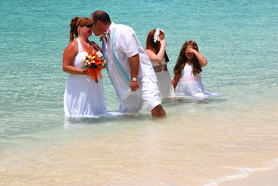 Grand Cayman Beach Wedding Was Fun For Kids Too - image 4