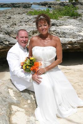 A Simple Wedding, and a well-kept secret, Grand Cayman Beach Wedding - image 5