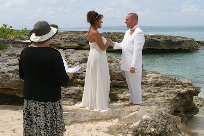 A Simple Wedding, and a well-kept secret, Grand Cayman Beach Wedding - image 2