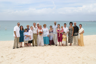 Surrounded by the ones they love for their Cayman Beach Wedding - image 5