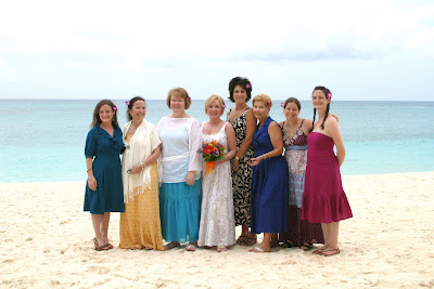 Surrounded by the ones they love for their Cayman Beach Wedding - image 4