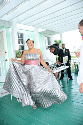 Starring in their own Cayman Wedding, Cayman Style - image 3