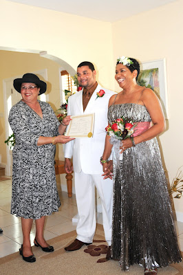 Starring in their own Cayman Wedding, Cayman Style - image 2