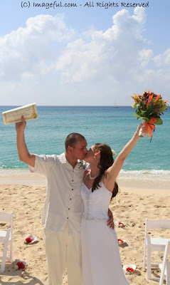 Unity Sand Ceremony & Wedding on Grand Cayman Beach - image 9