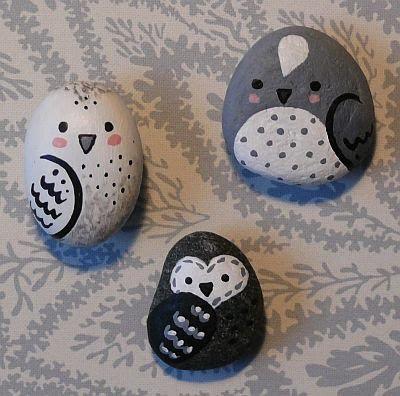 1000+ ideas about Owl Rocks on Pinterest | Rocks, Hand Painted Rocks ...