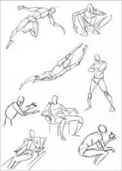 All things art the body as art for Body movement drawing