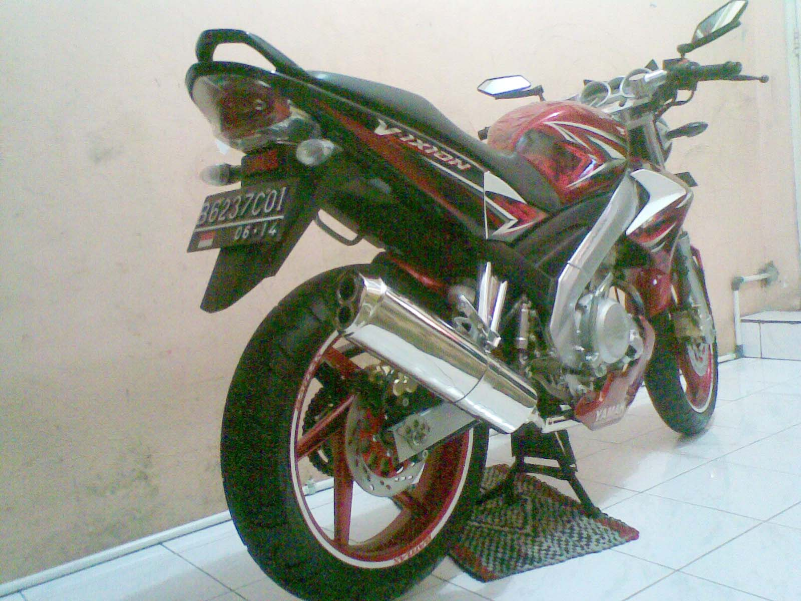 Modifikasi Yamaha V Ixion