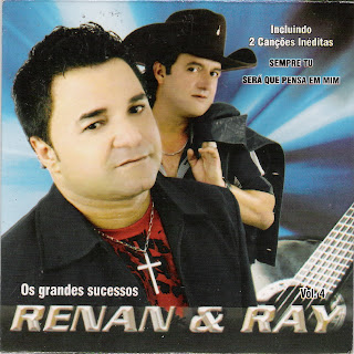 Cd Renan & Ray - Os Grandes Sucessos - Vol. 4