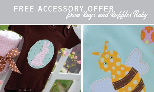 Rags and Ruffles Baby accessory sale
