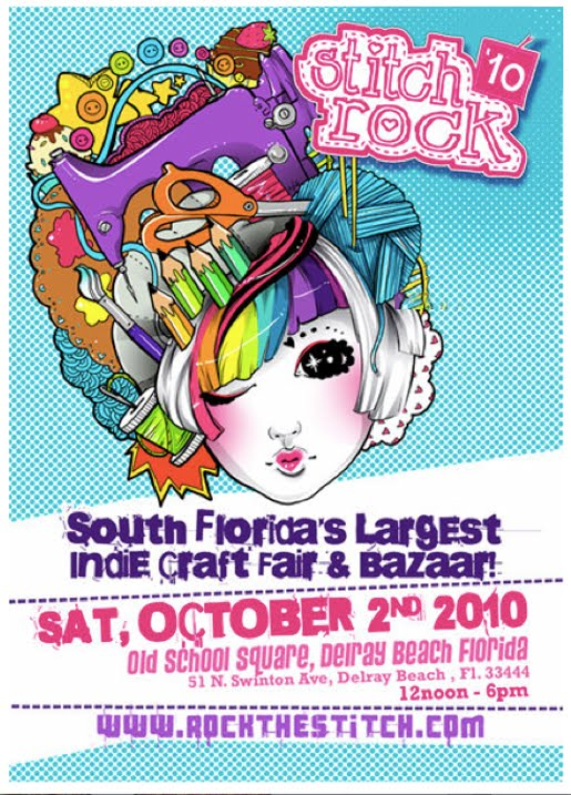 Stitch Rock Indie craft show and bazaar in South Florida
