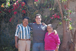 Me and my host family in Zarabanda