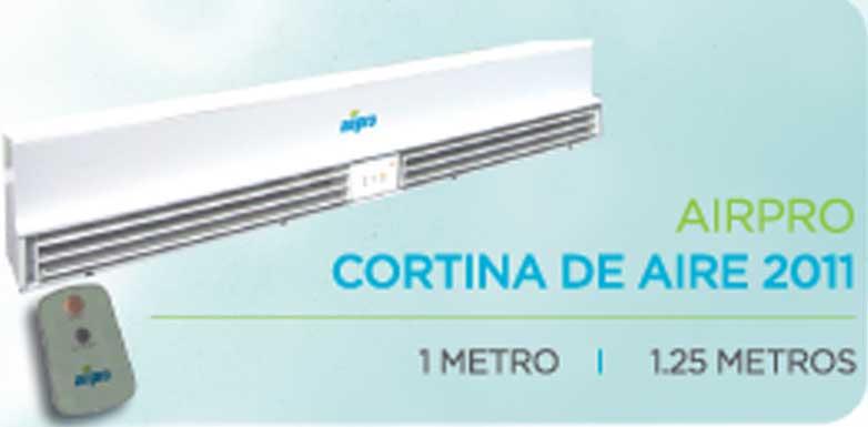 Aire 2 0 un equipo de aire acondicionado para cada necesidad - Cortinas de aire caliente ...
