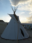 Tipi on the Playa