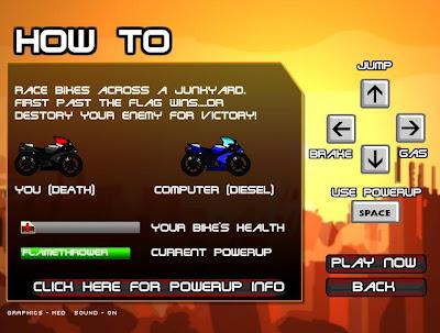 Motorcu ve Ölüm Oyunu