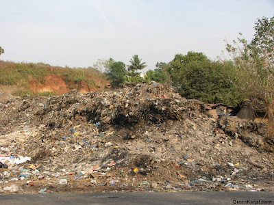 Karjat cities dump yard