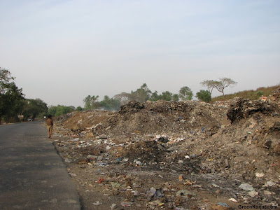 Garbage dump along the Karjat Murbad Highway