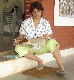 Goan Recipe's Chef, Yvette Fernandes