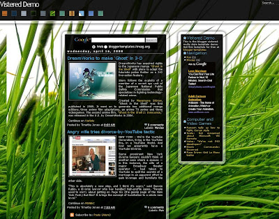 Vistered Blogger Skin