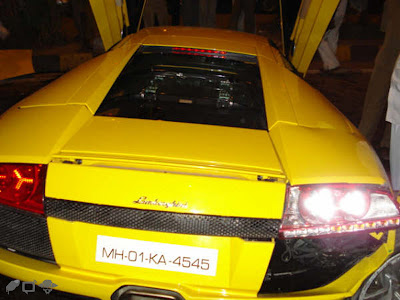 Lamborghini Murcielago LP640 Mumbai Accident