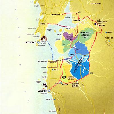 Mumbai Trans Harbour Sea Link Sewri to Nhava Sheva