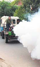 Vehicle Mounted New Fogging Machines