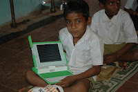Rahul with his XO Laptop