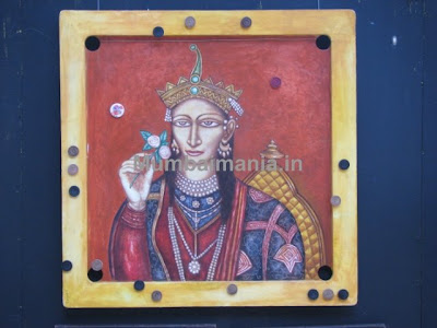 Carrom board art