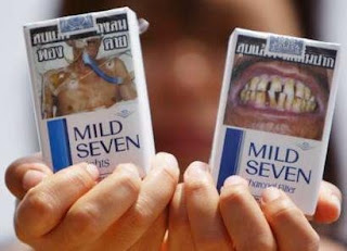 Mild Seven Cigarette pack pictorial warning