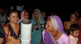 Khagol Mandal organized a star watching program for the aboriginals of Nandurbar in Maharashtra