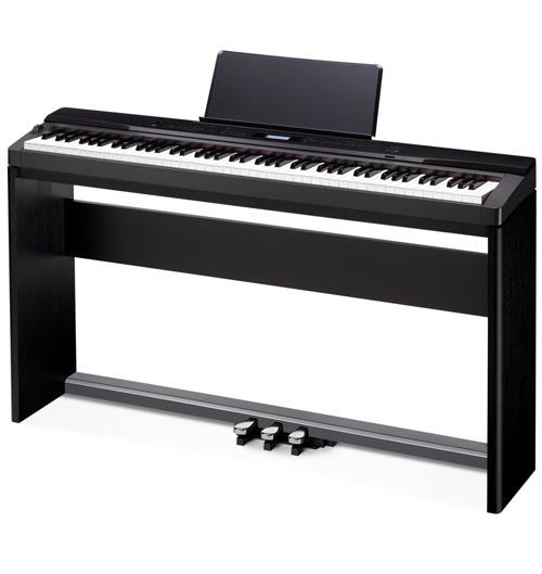 Az piano reviews review casio px130 px330 privia for Smallest piano size