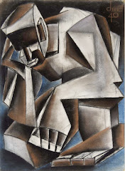 Richard W. Dempsey     Untitled, 1940, Charcoal and pastel on paper, Courtesy of Vonda Kirkland Dem