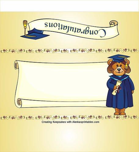 Tarjeta de invitación de graduación para imprimir - Imagui