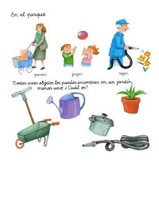 Ejercicios de lenguaje para ni os el jard n fichas for Actividades para ninos de jardin