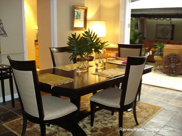 Renew redo table setting and dining room recap 1 - Dining room table settings ...