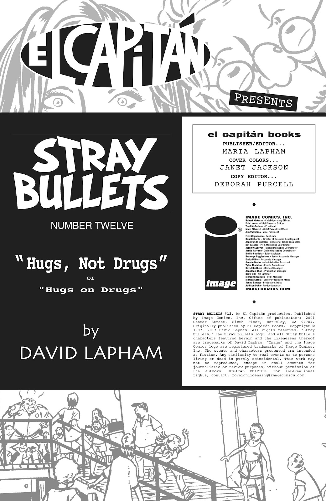 Stray Bullets Issue #12 #12 - English 2