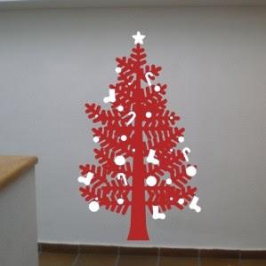 decoracin e ideas para mi hogar lindos rboles de navidad en color rojo