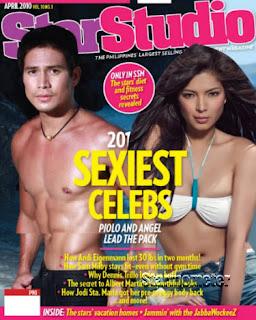 Angel Locsin, Piolo Pascual, StarStudio's 2010 Sexiest Celebs