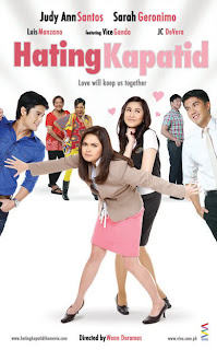 hating kapatid, jc de vera, judy ann santos, sarah geronimo