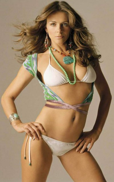 Hot Liz Hurley Wallpapers